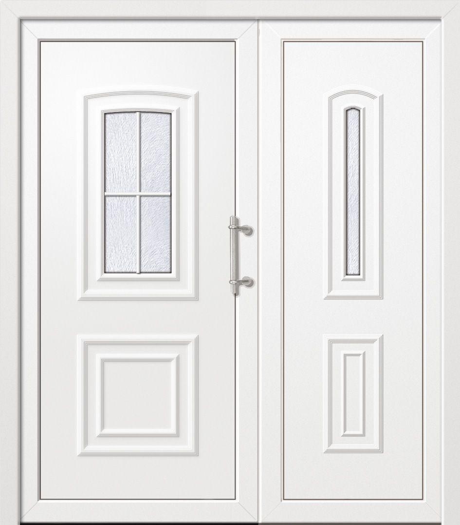 двери входные полуторные двойные