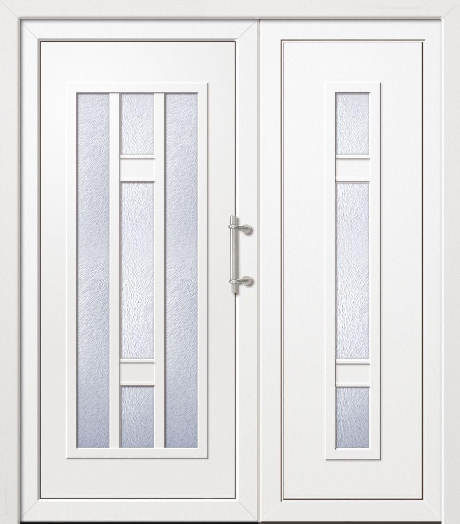 установка металлической двери в коридоре ювао